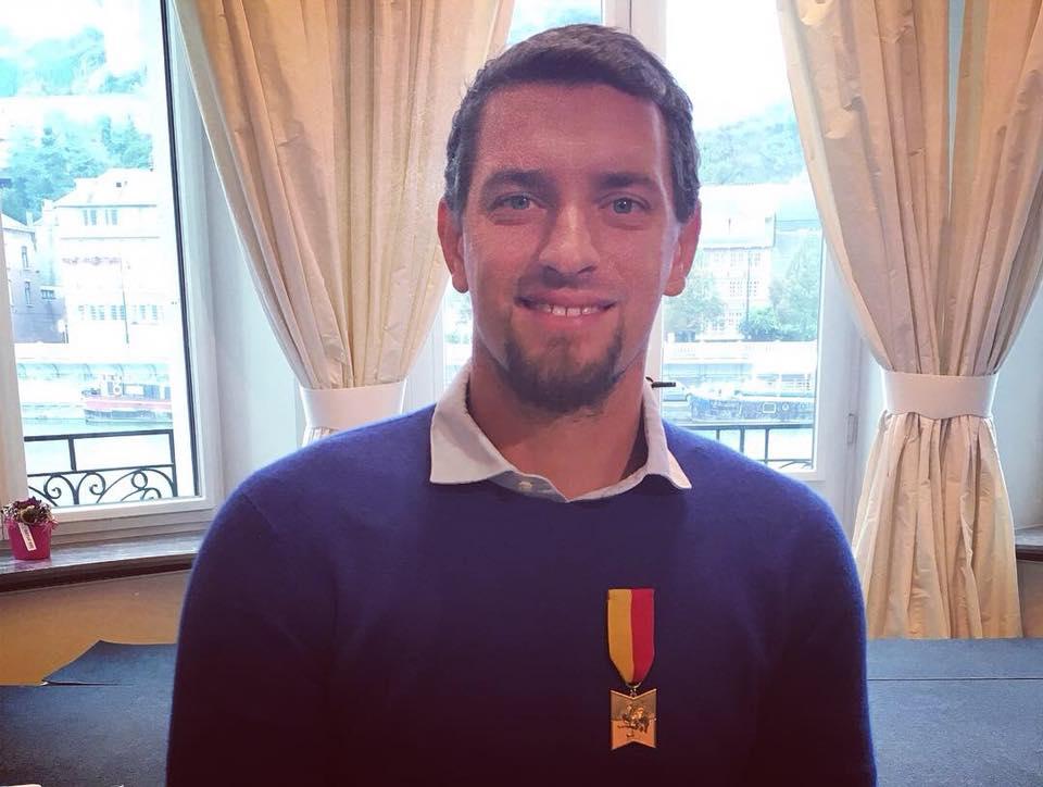 Notre partenaire Joachim Gérard élevé au rang d'Officier du Mérite Wallon ce jeudi 13 septembre à Namur!