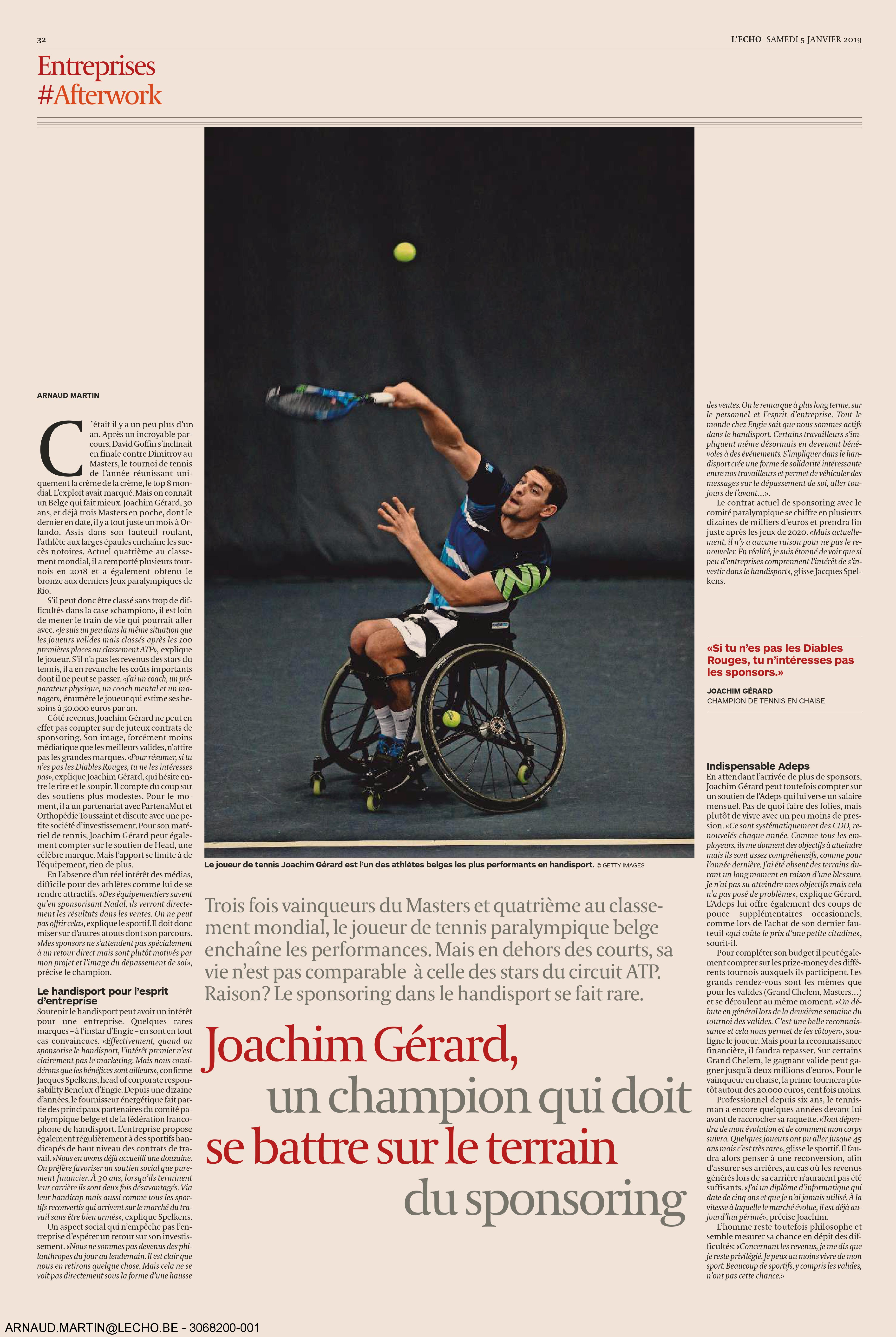 Orthopedie-Toussaint-Joachim-Gerard-Sponsoring-Handisport-Journal-l-Echo