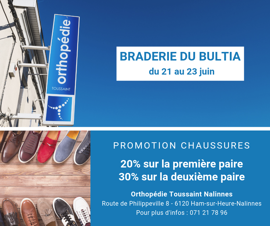 Orthopedie-Toussaint-Promotion-Chaussures-Braderie-Bultia