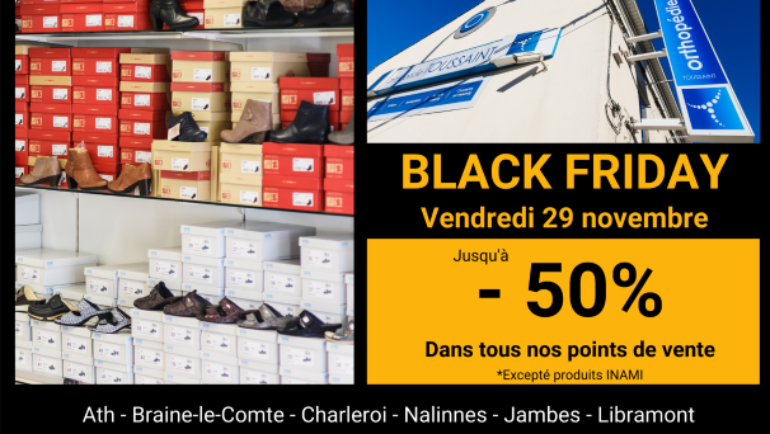 Black Friday : grand déstockage!